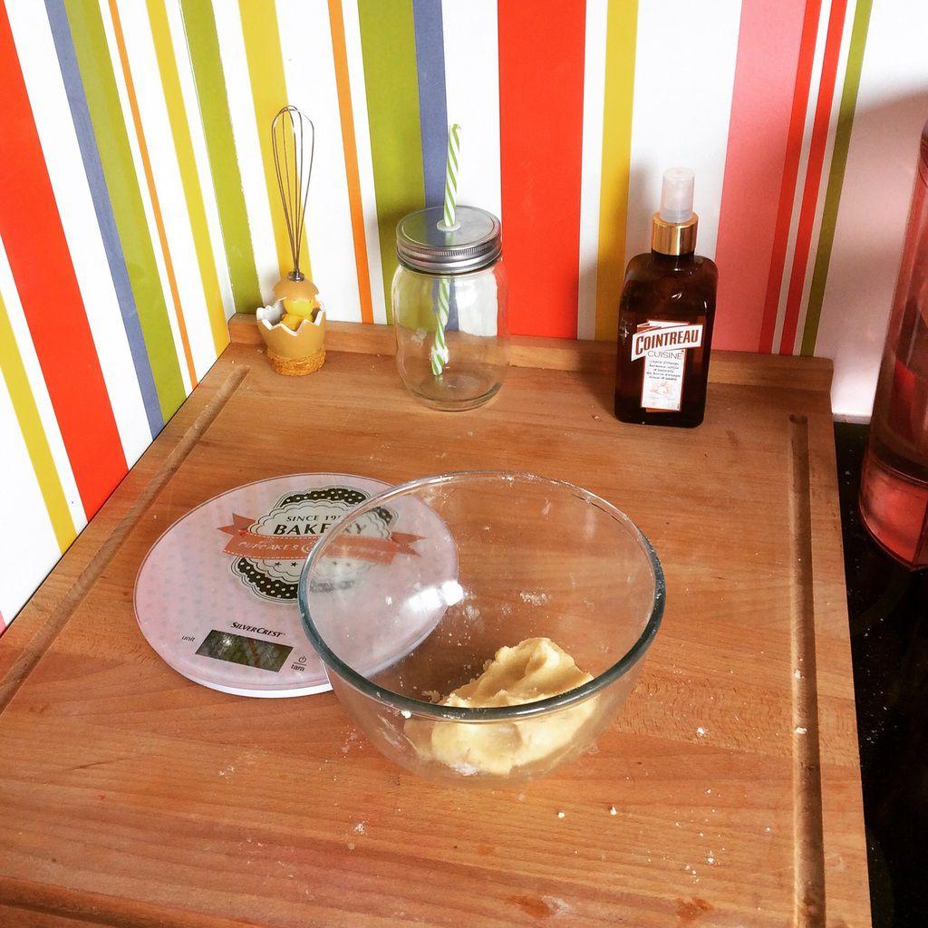 Le défi du cake amandes-griottes pistaches