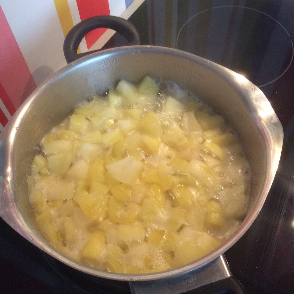 Ma tarte aux pommes façon CAP