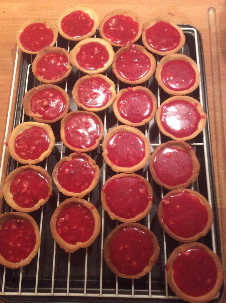 Mes minis tartelettes aux pralines roses