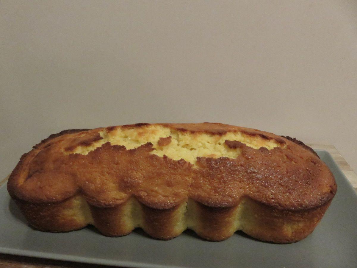 Mon cake à la bergamote