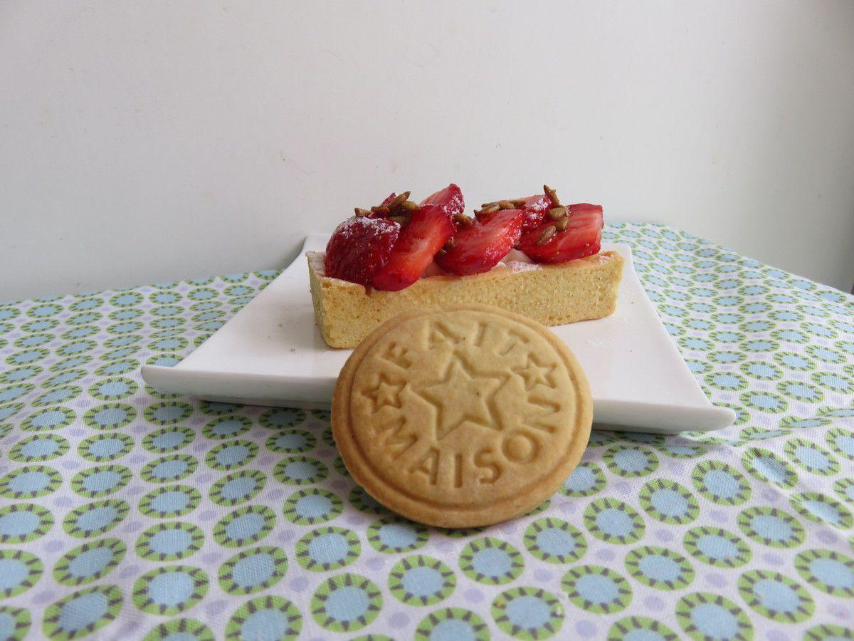 Ma tartelette aux fraises