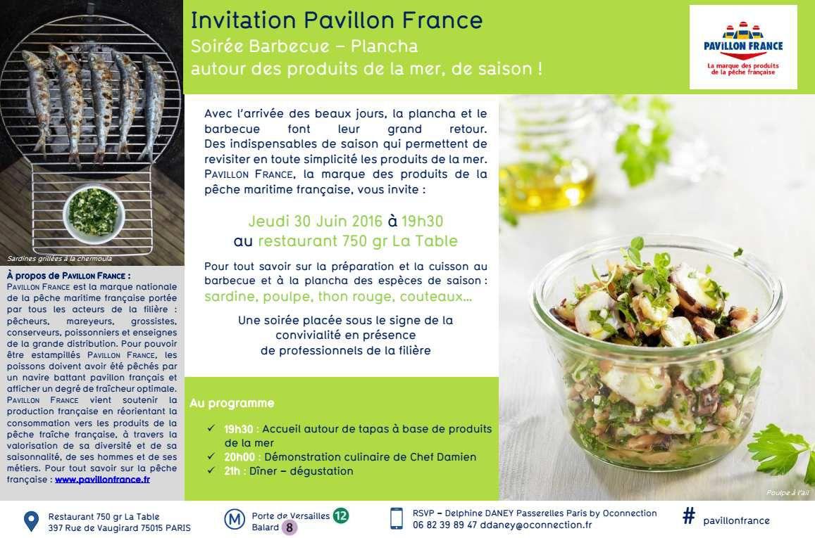 Ma soirée Pavillon France