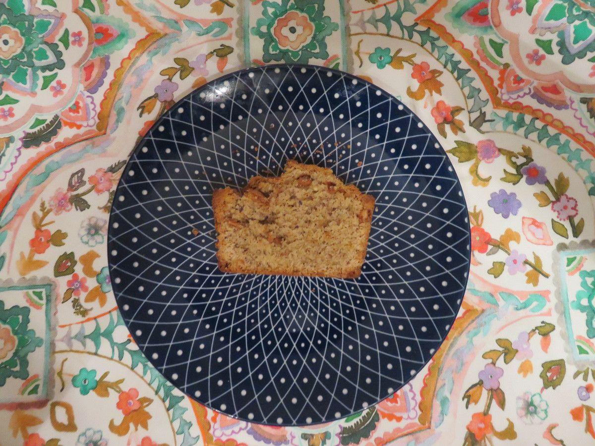 Mon cake praliné noisettes