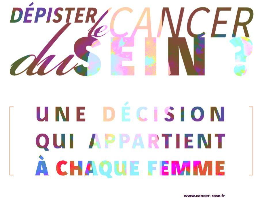 Dépistage du cancer du sein par mammographie : que pensez? ?