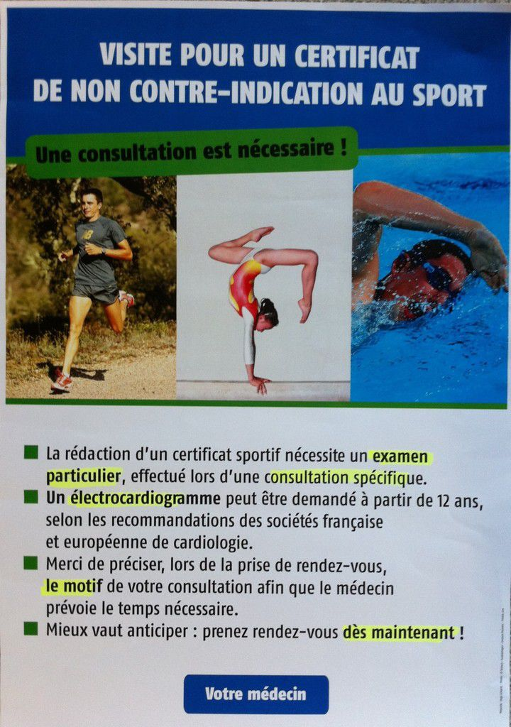 Licence sportive.....