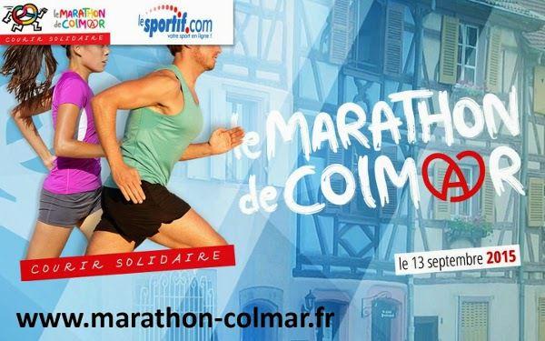 Marathon de Colmar Dimanche 13-09-2015