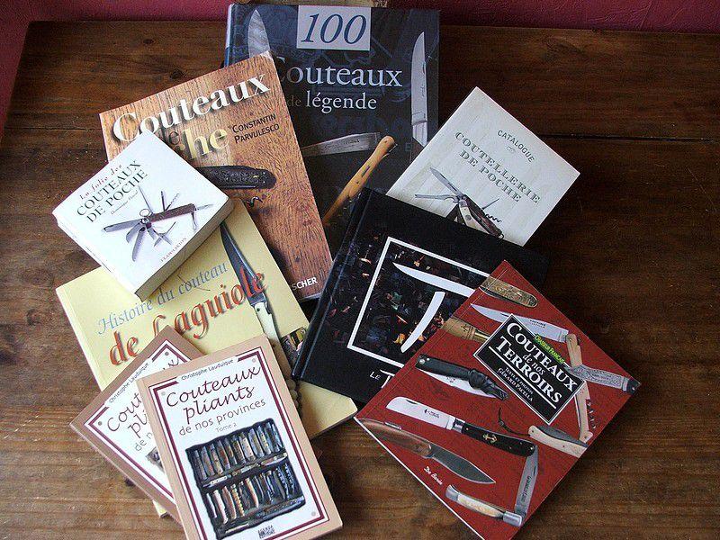 100 couteaux de Légende, par Gérard Pacella