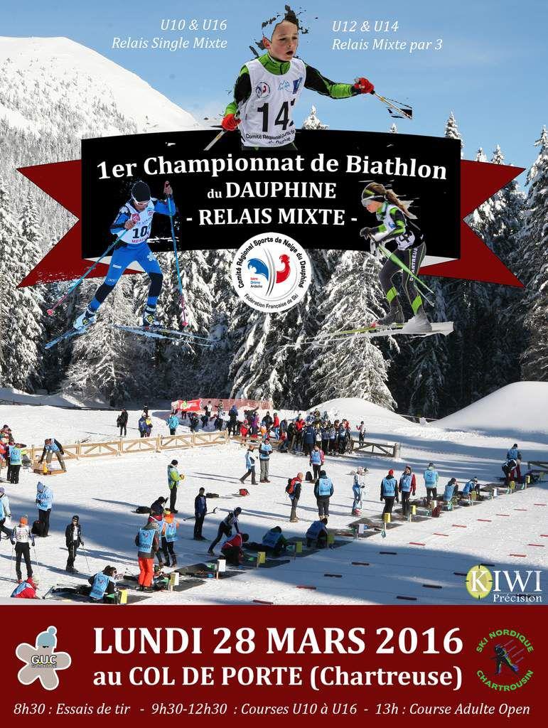Championnat Dauphiné Biathlon Relais Mixte : Appel aux bénévoles!