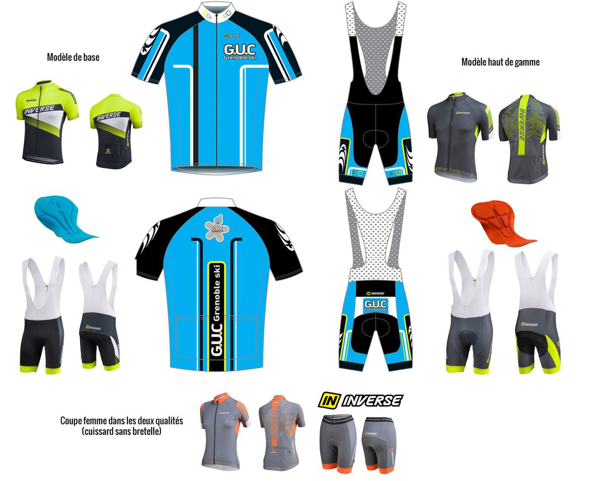 Tenue cycliste. 2 gammes possible.