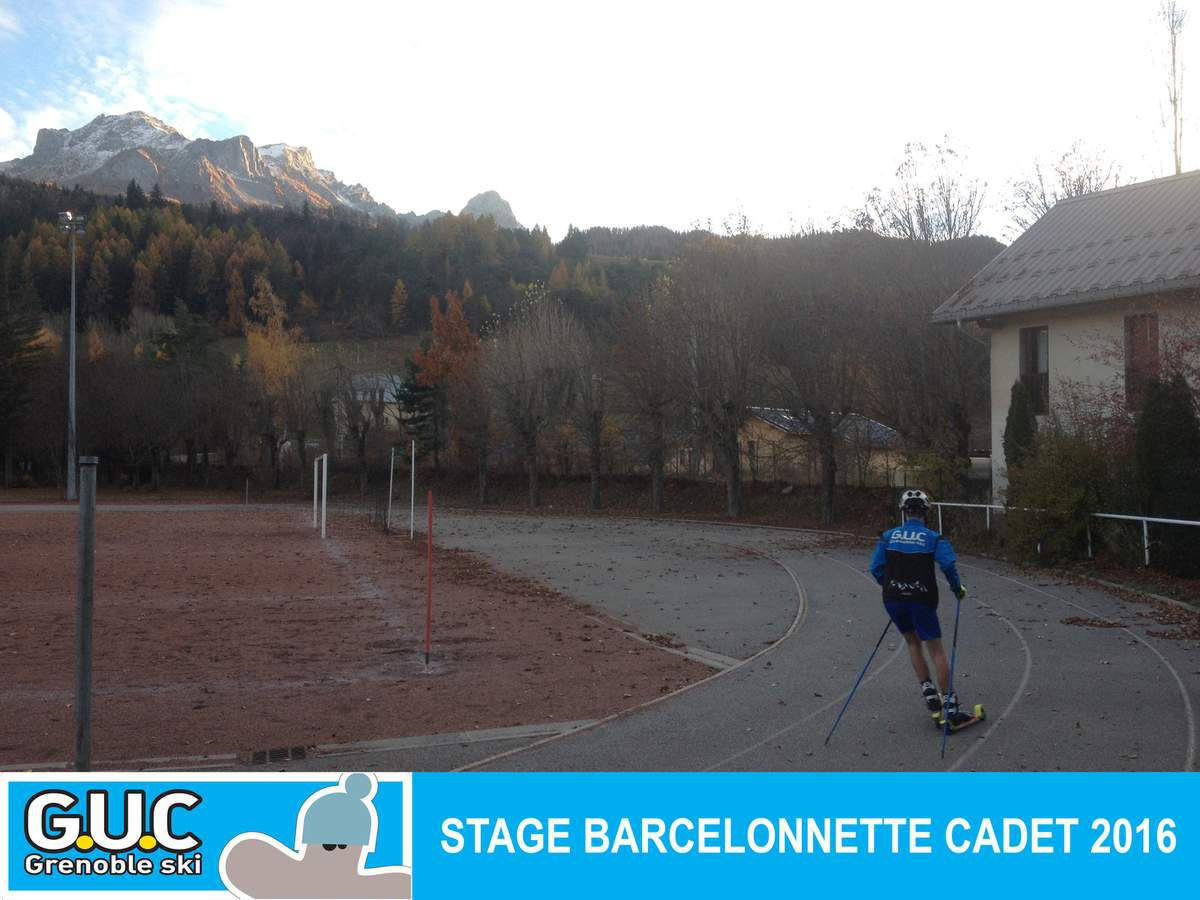 Photo stage de barcelonette Cadet