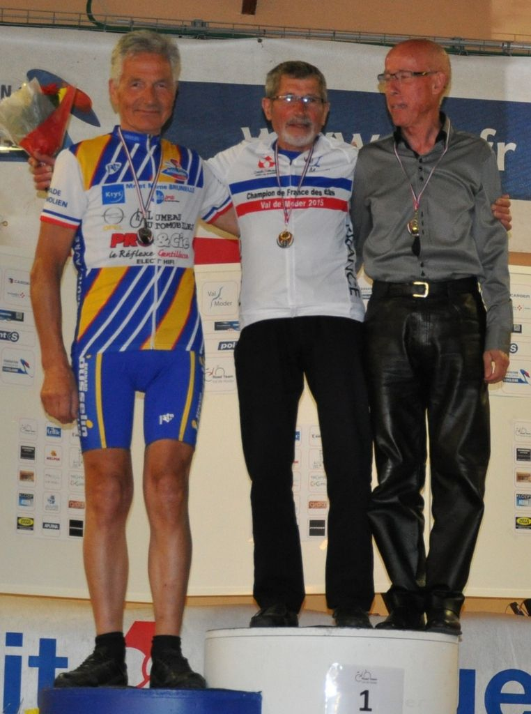 Pierre Tuny vice champion de France VTT des Elus