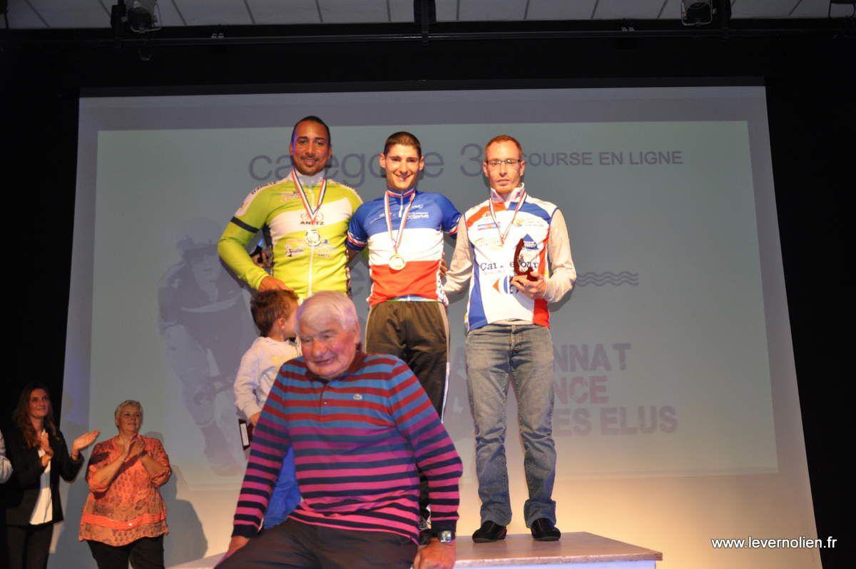 Les podiums des 2 épreuves