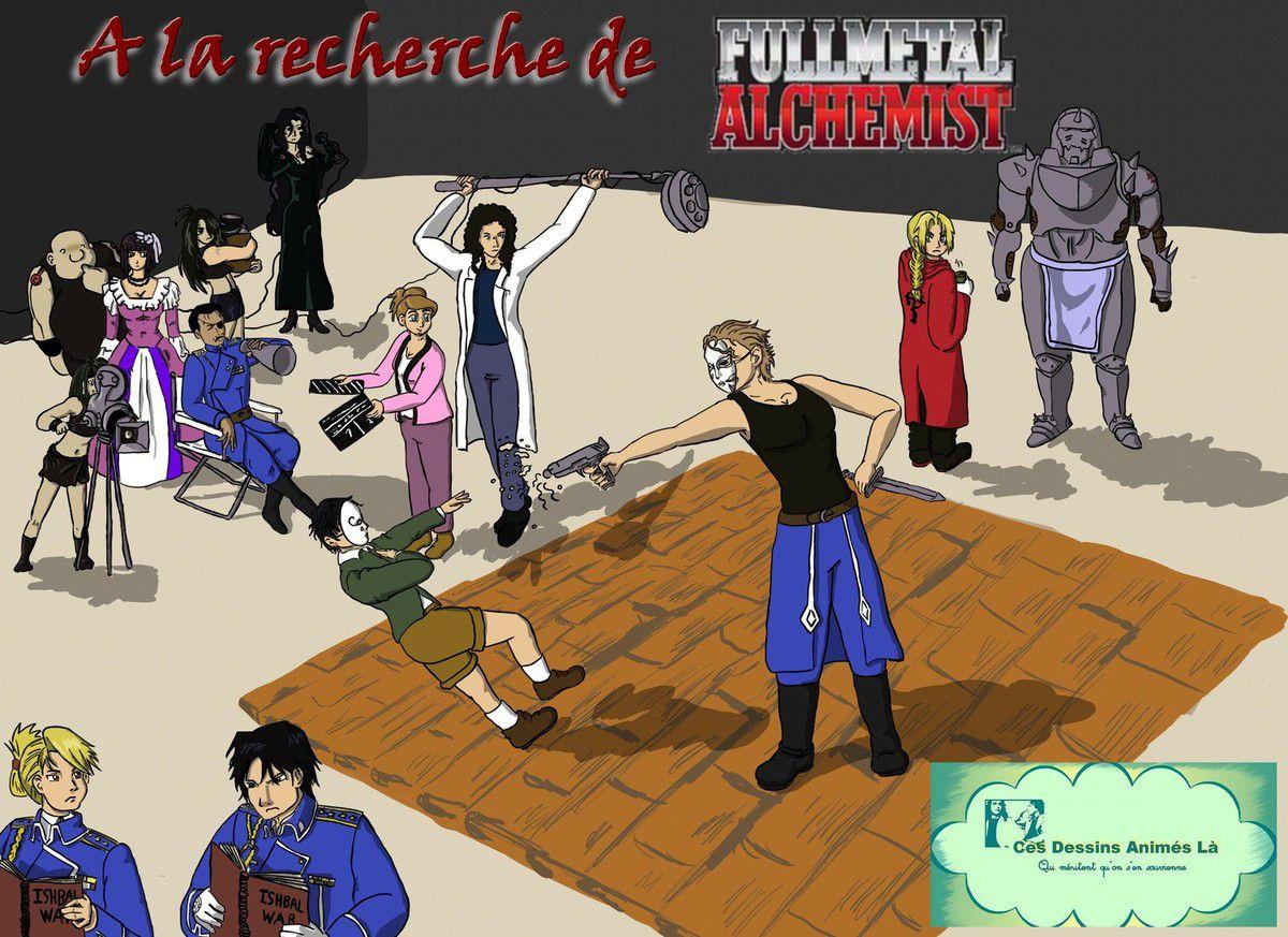 Review n°40 - A la recherche de FullMetal Alchemist