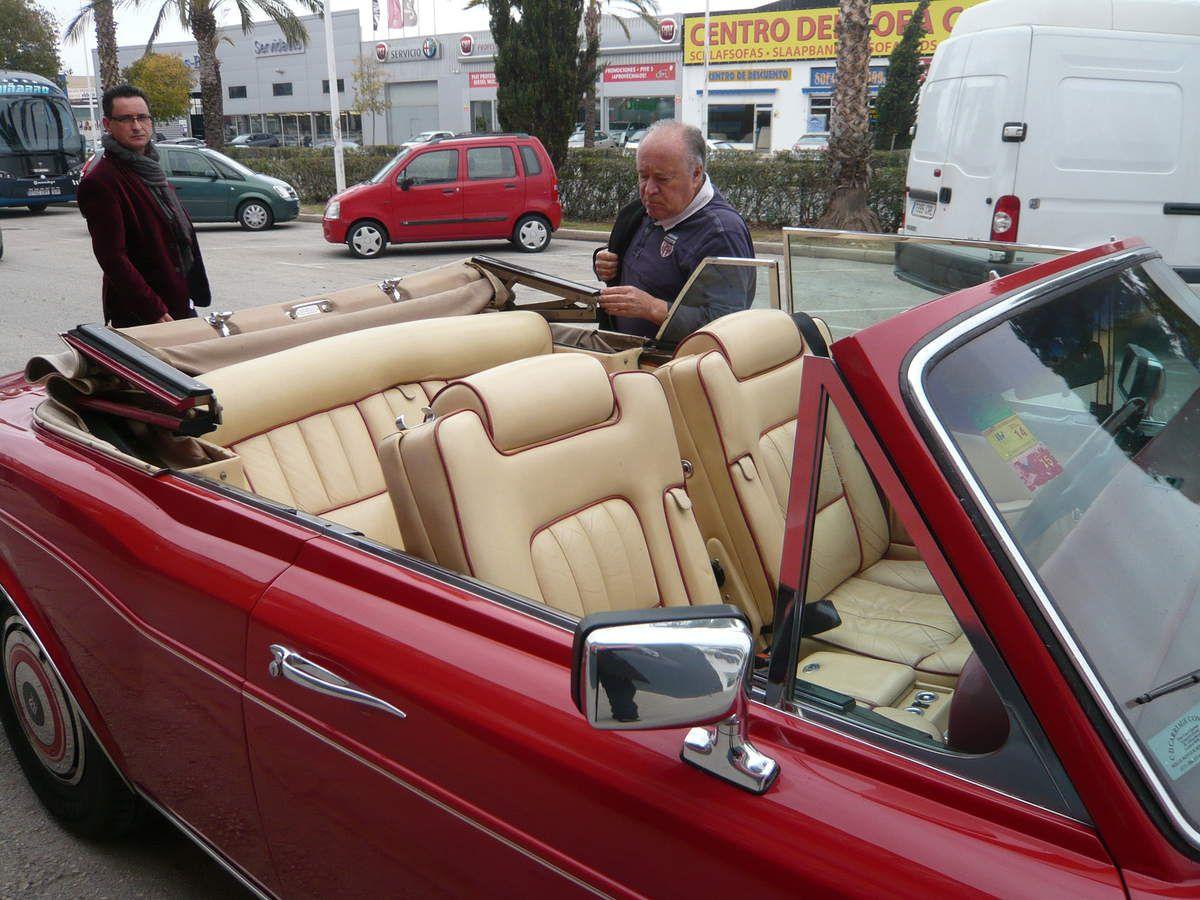 Rolls Royce Corniche : nouvelle acquisition d'un membre de l'avava