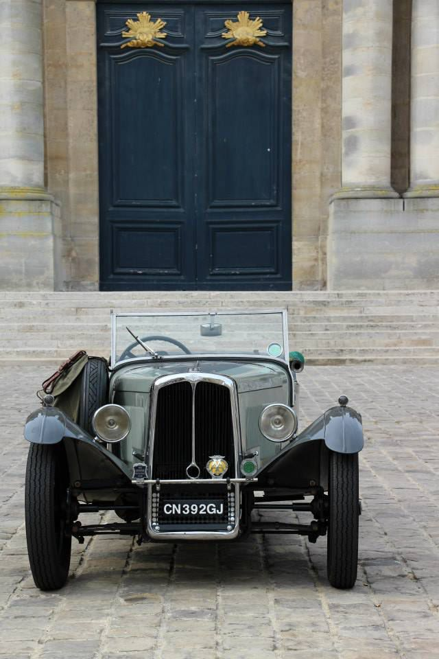 Paris:  du 9 août au 6 septembre exposition de photos d'automobiles de collection