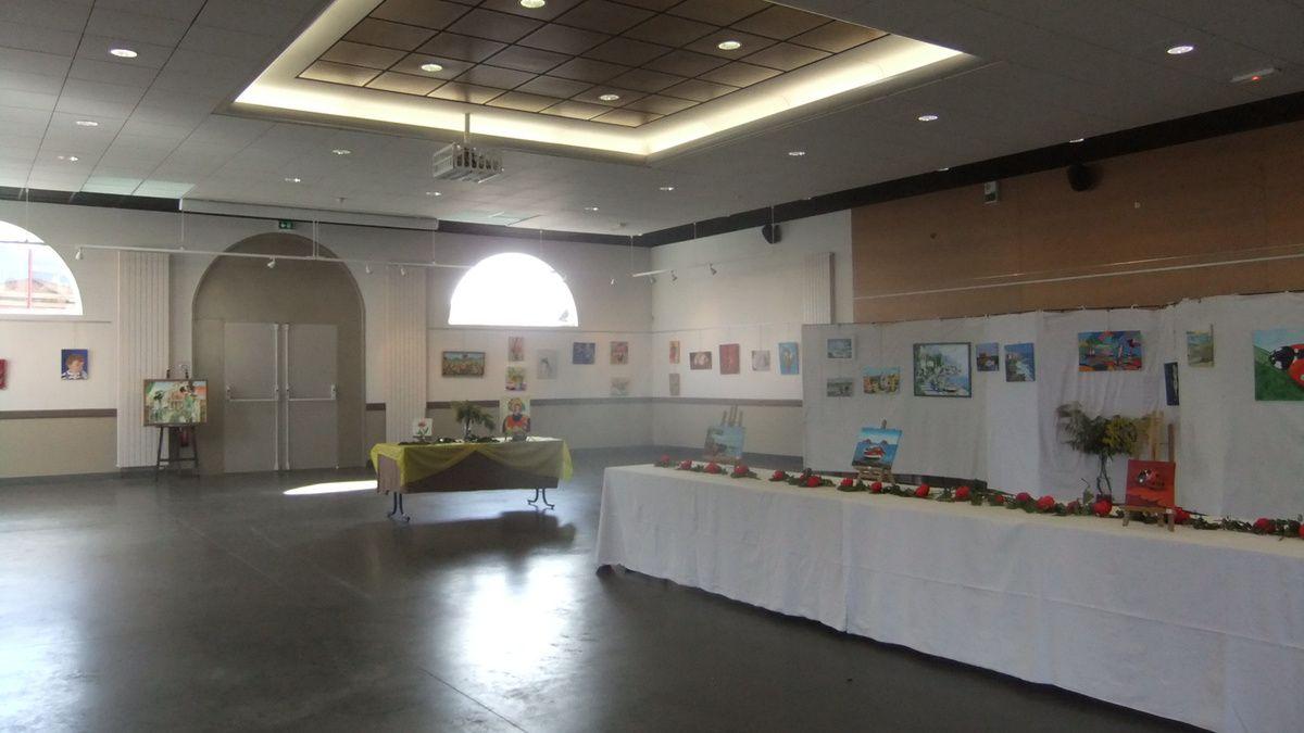 expo peinture à l'huile mars 2015