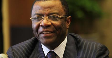 Ministre des Transports Edgard Alain Mebe Ngo'o