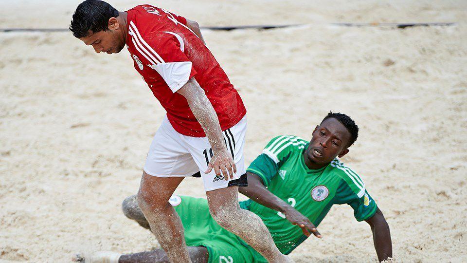 CAN 2016 de beach soccer - NIGERIA