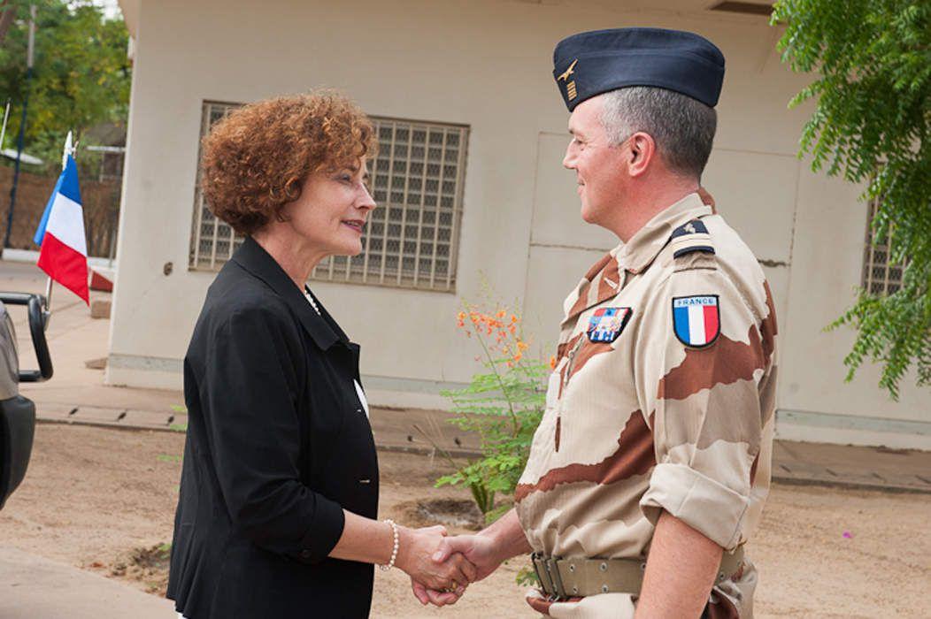 Mme Evelyne Decorps, ambassadrice de France au Tchad