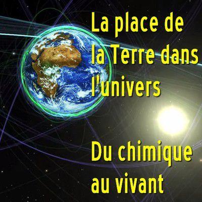 Où voulez-vous que soient les origines de la vie ? Sinon dans l'espace et à l'interface sol-espace