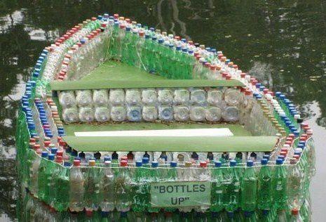 Créativité : mais que faire avec des bouteilles en plastique ?