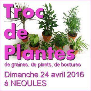 Local Var : Troc de Plantes du dimanche 24 avril 2016 à Néoules