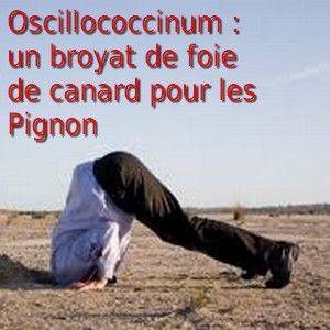 Ocillococcinum ! Du foie de canard dilué 200 fois à 1% - De qui se moque-t-on ?