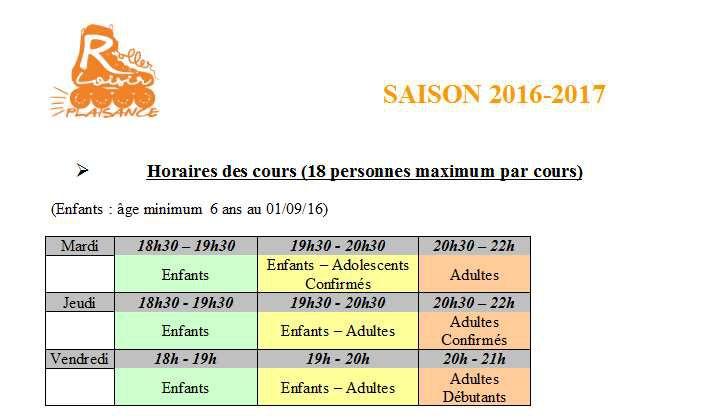 Saison 2016 - 2017