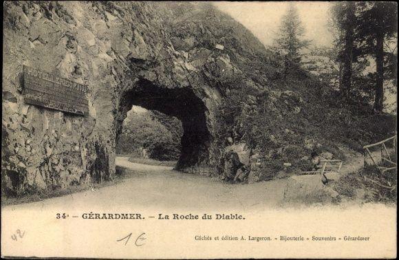 La Roche du Diable (près de Gerardmer)