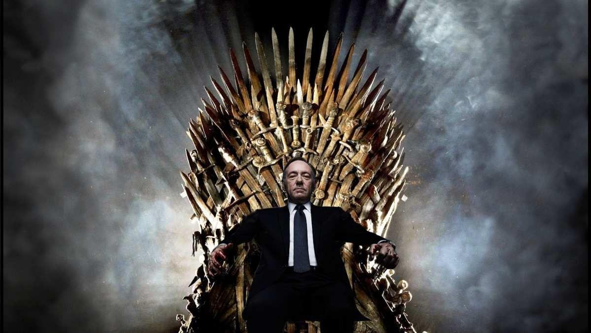 Le moins qu'on puisse dire, c'est que Frankie sur le trône de fer c'est grave badass !!! Bien plus que Petr Baelish & Cercei Lannister réunis !