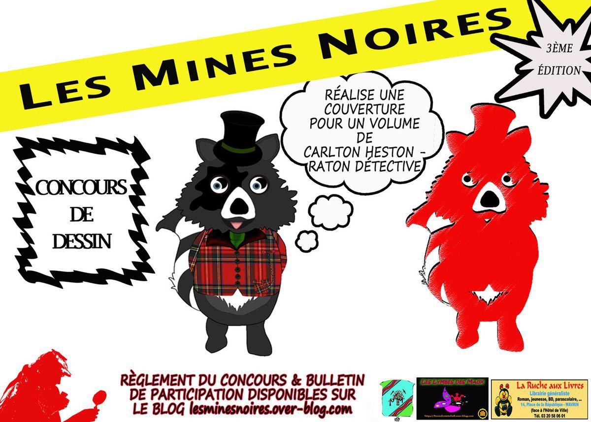 3ème édition du salon du polar de Noeux-Les-Mines - LES MINES NOIRES