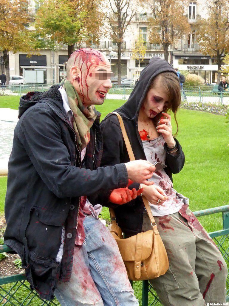 Zombie walk - Grenoble (part1)