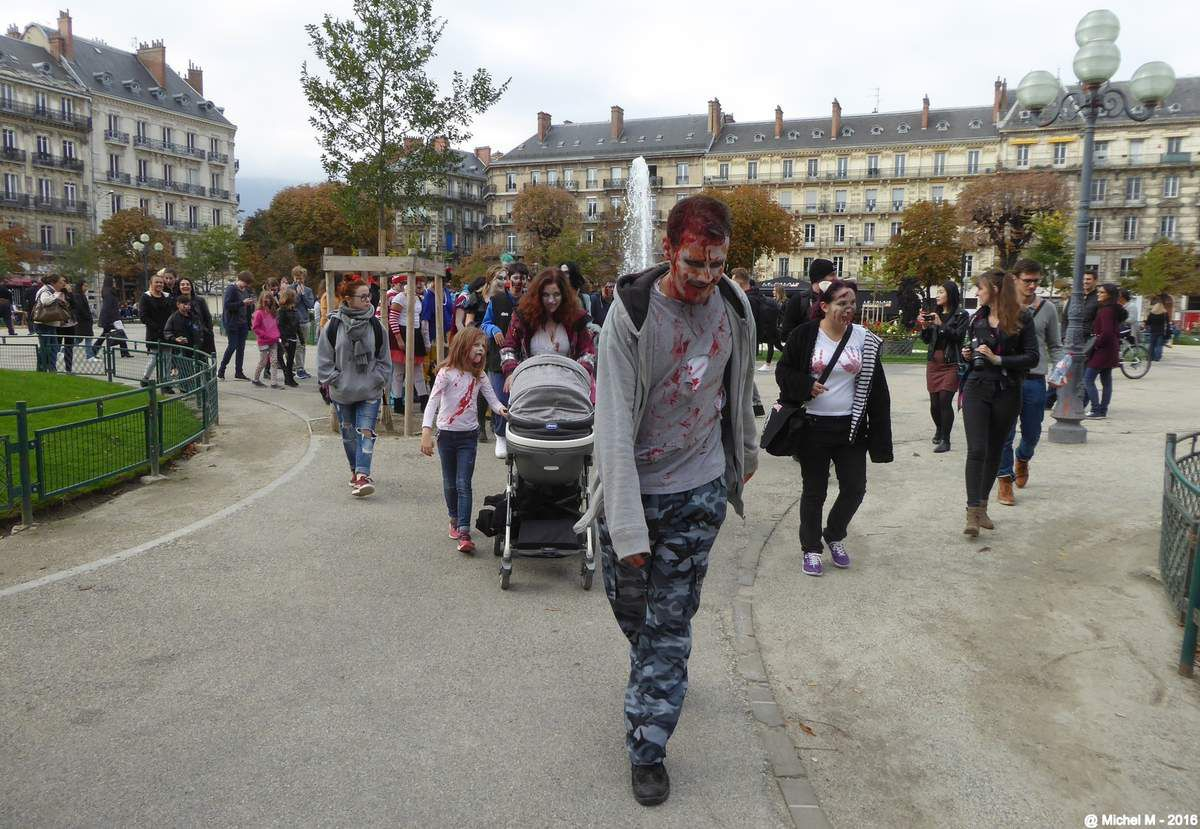 Zombie walk - Grenoble (part2)