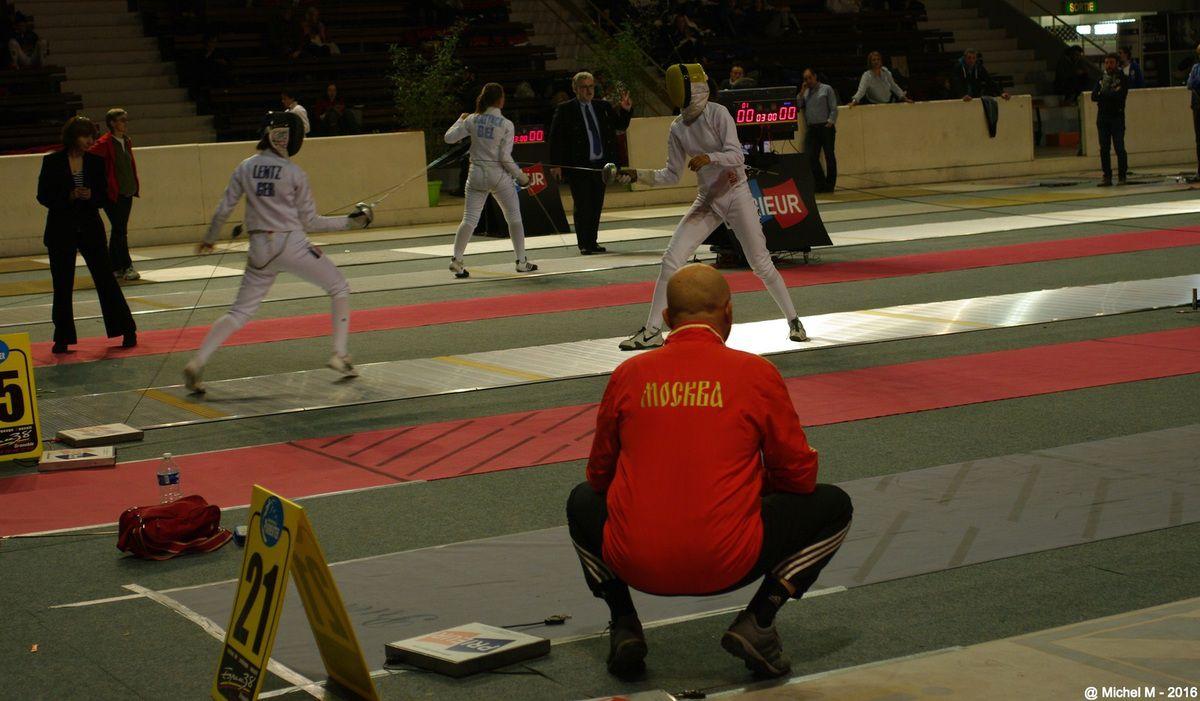 Grenoble, 11ème Challenge Mondial Epée