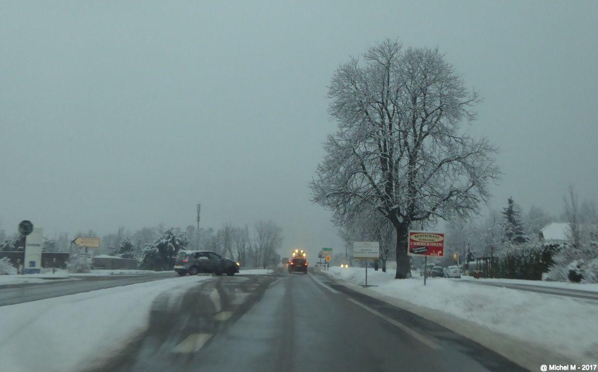 La neige, le retour
