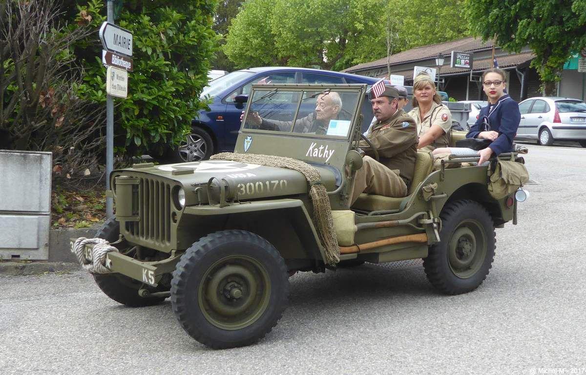 8 mai - les Jeeps à St Ismier