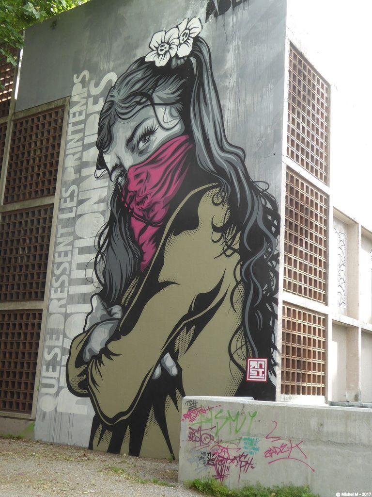 Grenoble Street Art Festival 2017, c'est partiiiiiiiiiiiiiiiii!