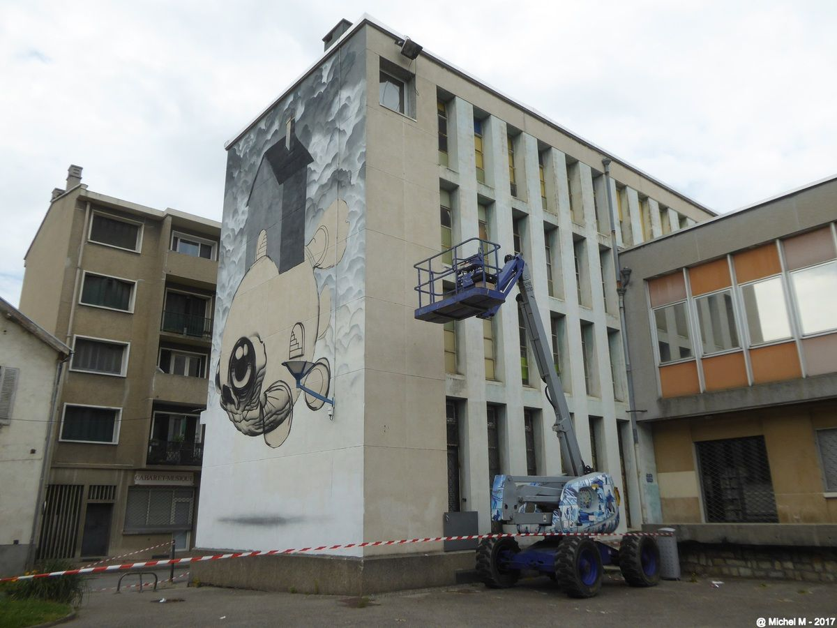 Grenoble Street Art Festival 2017, J-1