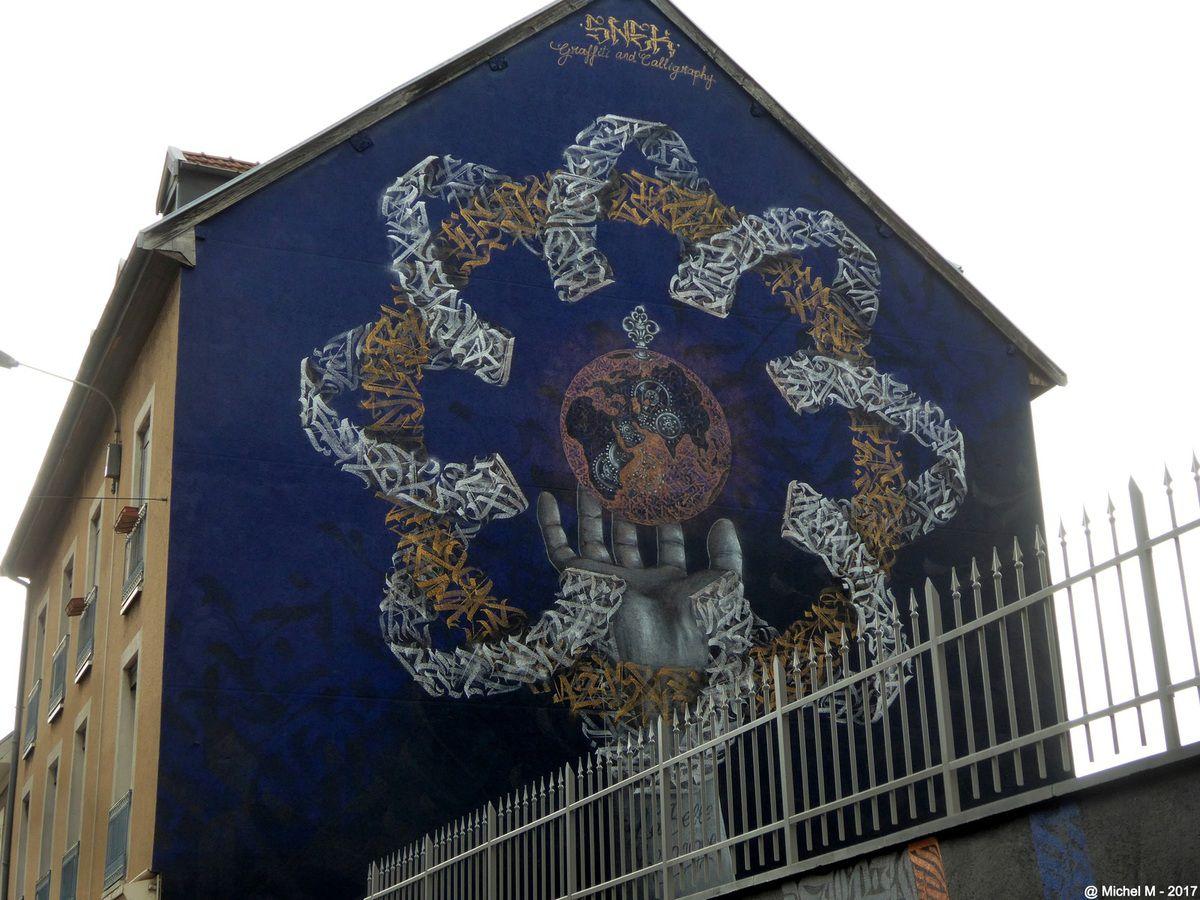 Grenoble Street Art Festival 2017, dernières photos
