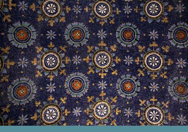 Ravenne 03 : le mausolée de Galla Placidia. Mardi 7 mai 2013