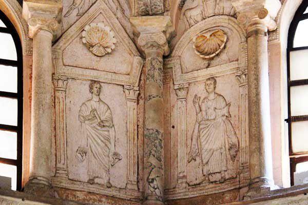 Ravenne 06 : le baptistère de Néon. Vendredi 10 mai 2013
