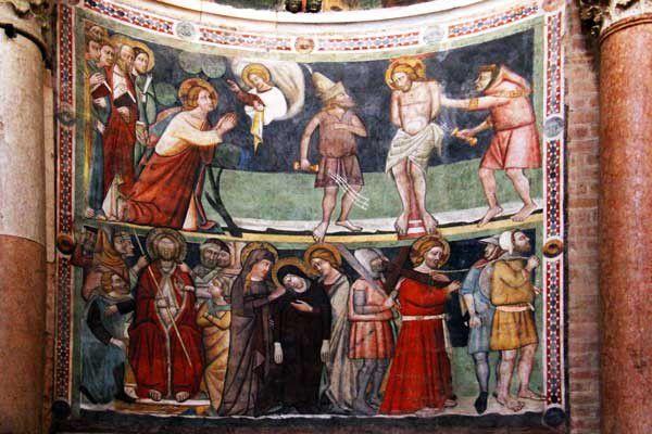 Le baptistère de Parme. 23 mai 2013