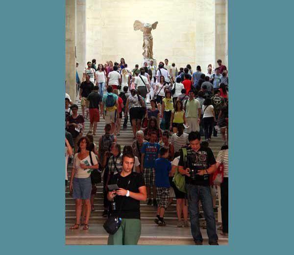 L'Occident au musée du Louvre. Mercredi 17 juillet 2013