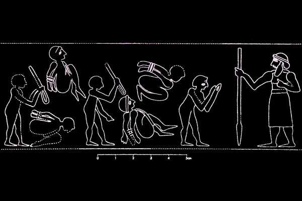 La Mésopotamie au musée de Pergame à Berlin. 31 juillet 2013
