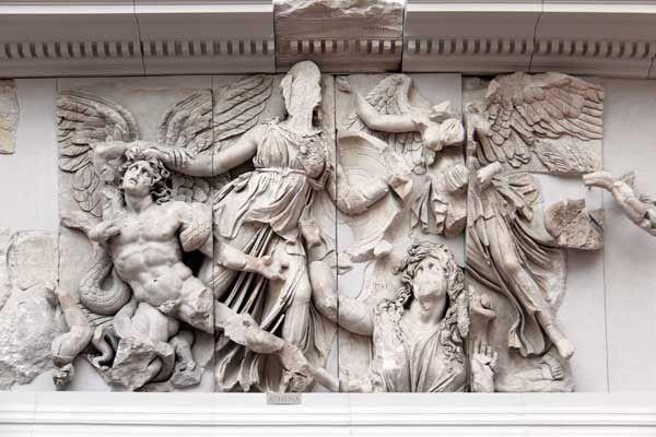 Pergame et Milet au musée de Pergame à Berlin. 31 juillet 2013