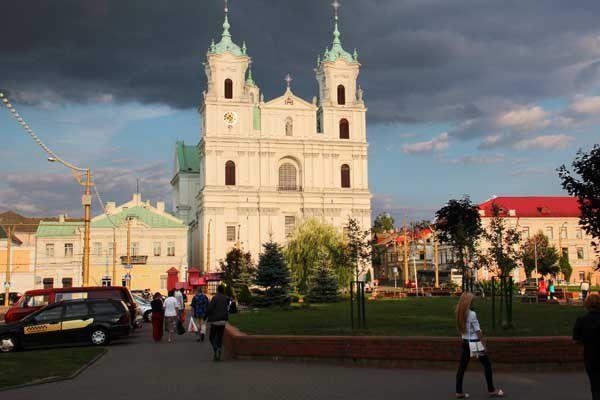 Grodno (Biélorussie). Du 6 au 18 août 2013