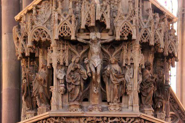 La cathédrale de Strasbourg. Dimanche 8 septembre 2013