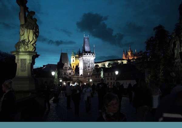Prague, le Pont Charles. Du 11 au 18 septembre 2013