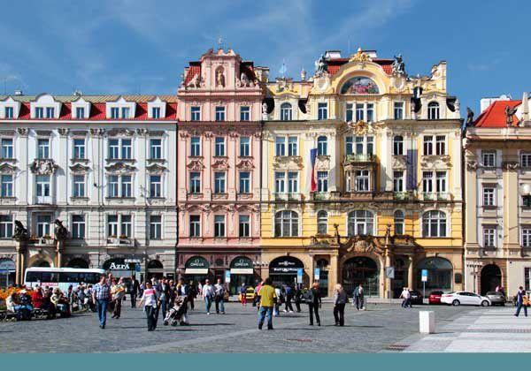 Promenades dans Prague. Du 11 au 18 septembre 2013