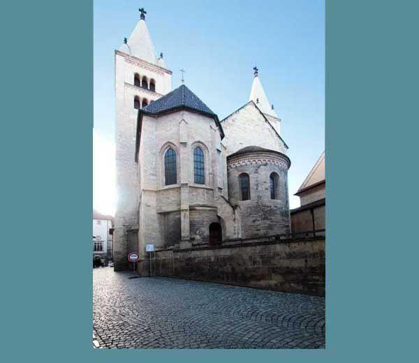 Le château de Prague (Hradčany). Mardi 17 septembre 2013